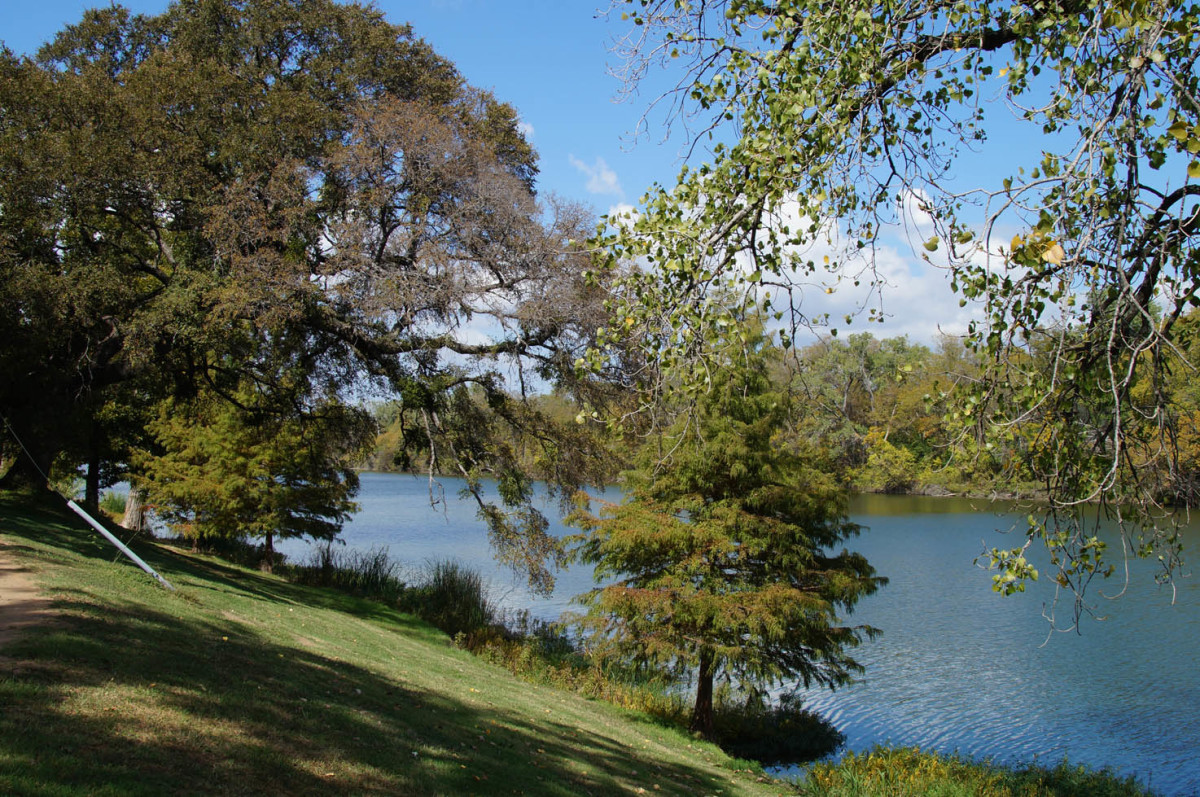 Walk along the Brazos River and enjoy the fresh air.