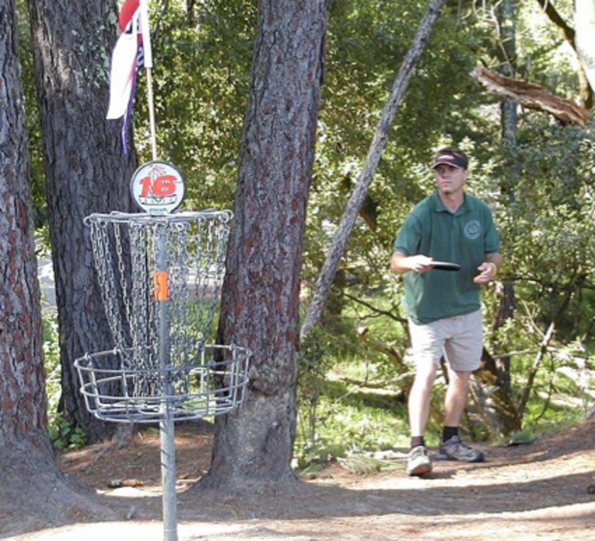 Disc golf courses can be found in several locations in the Waco area park system.