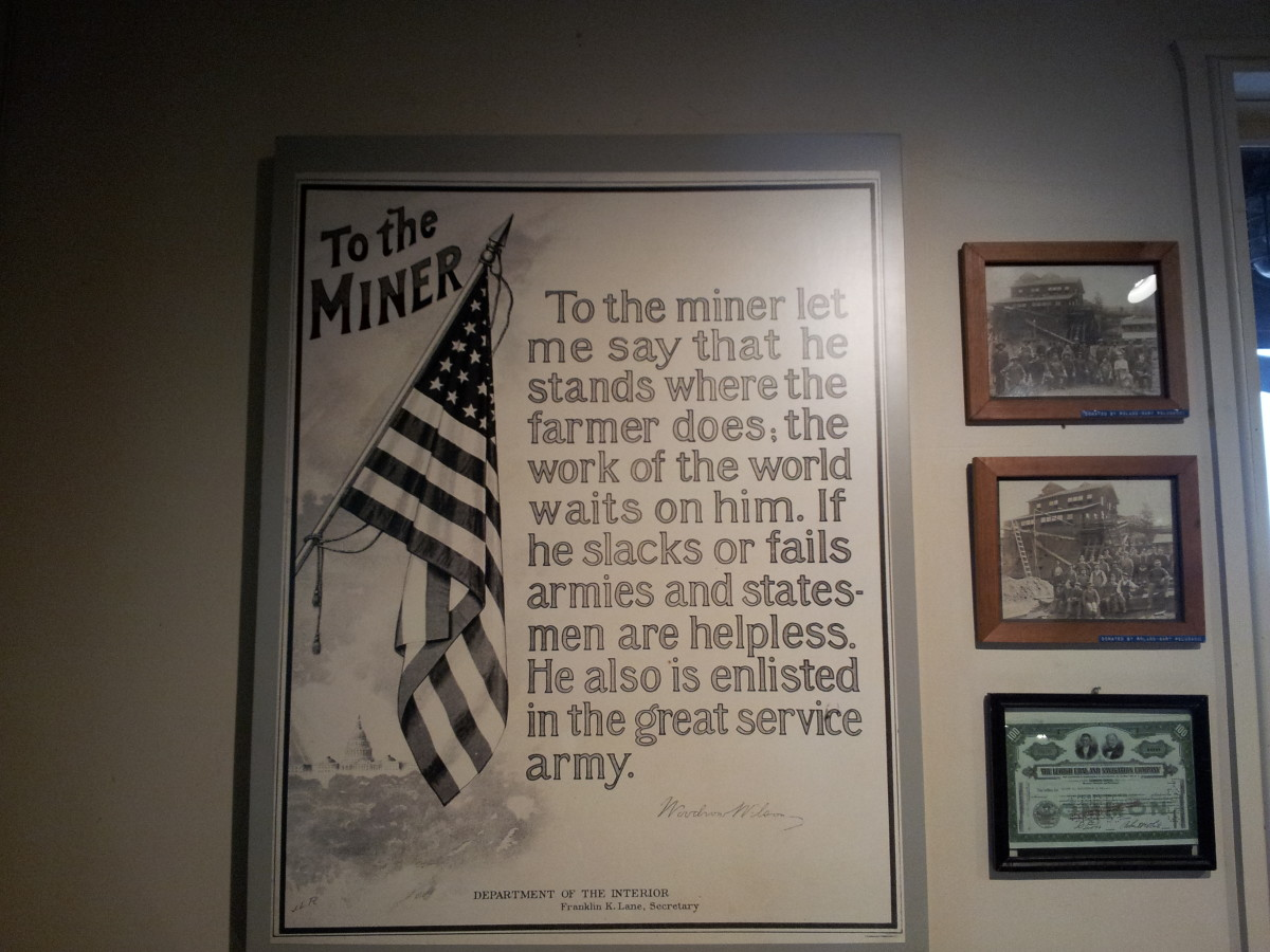A quote about appreciating the hard work of miners