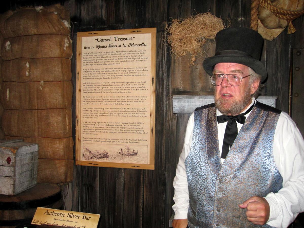 """Asa Tift"" tells the story of a Spanish galleon's cursed treasure."