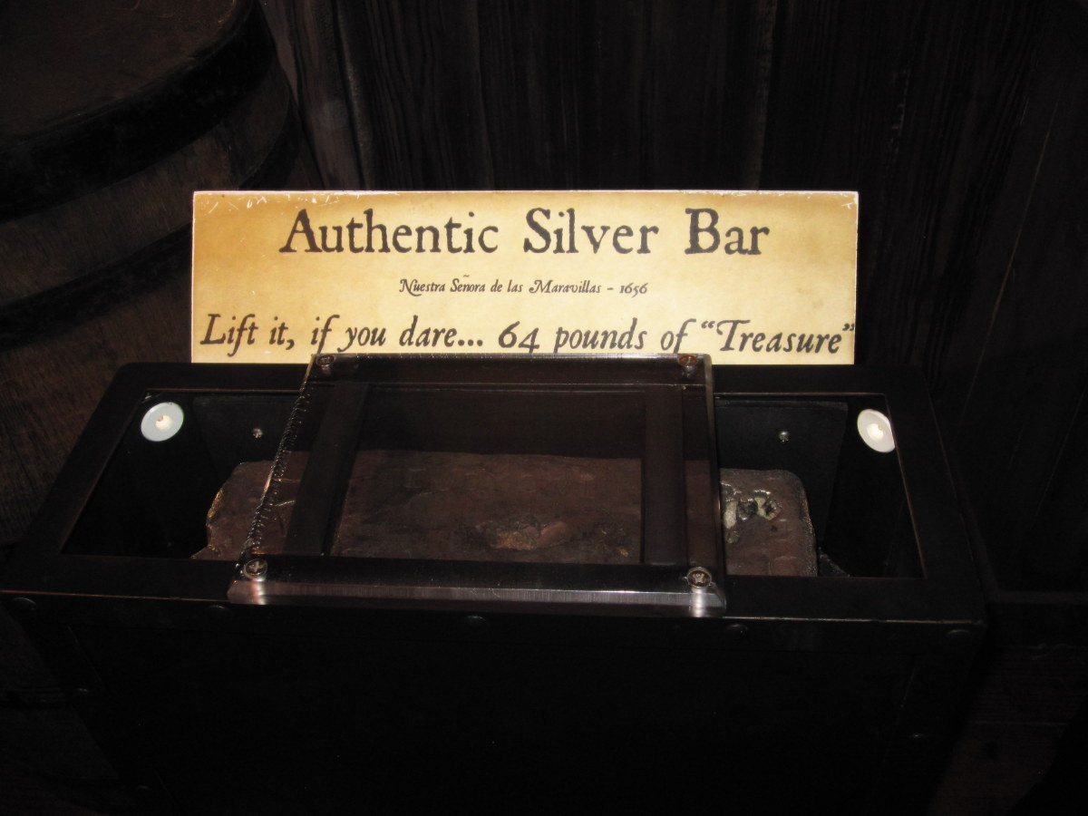 """A 64-pound silver bar is one of the museum's only real """"treasures."""""""