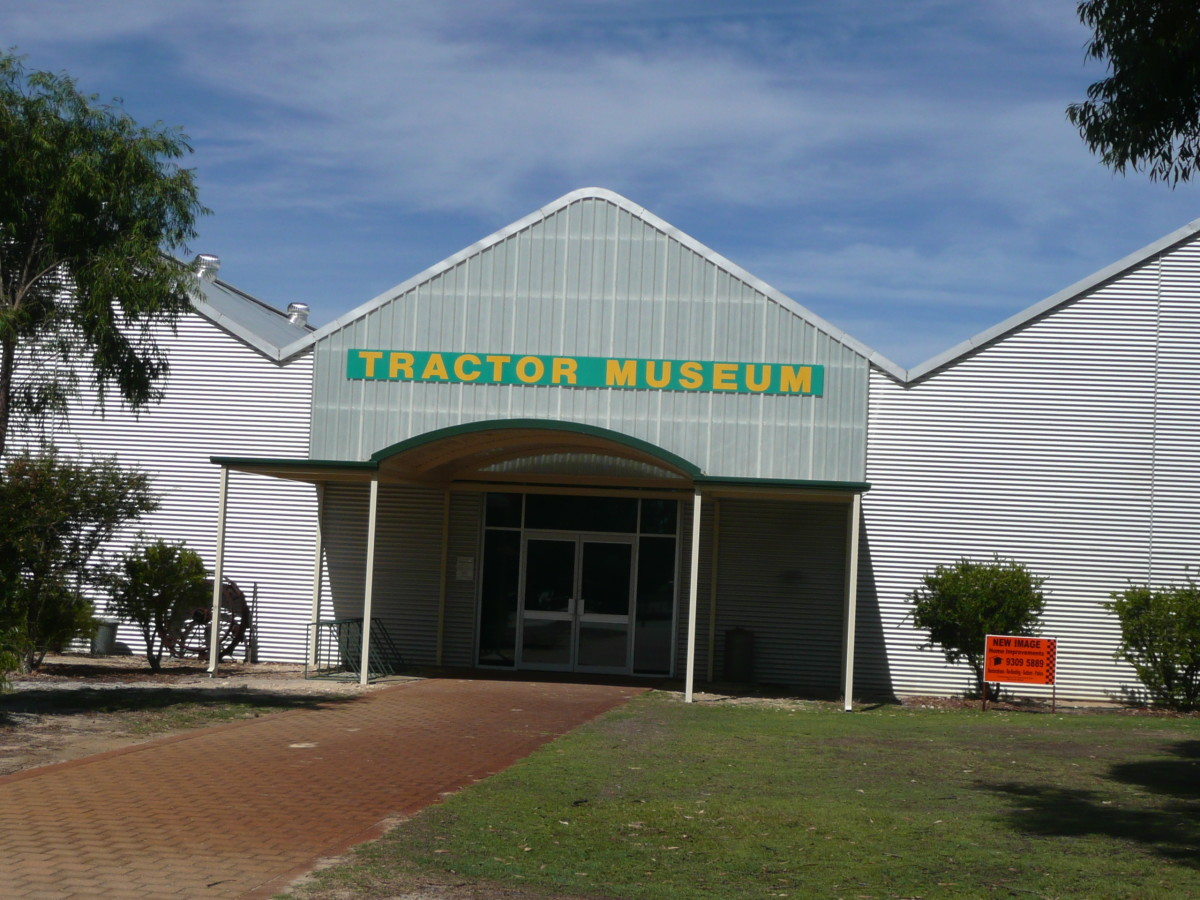The museum entrance