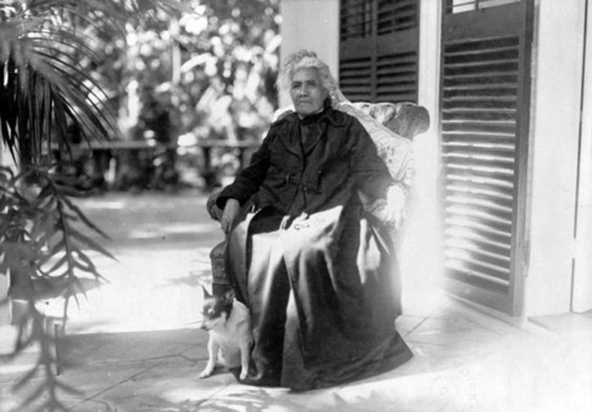 Lili'uokalani died at the age of 79 in 1917.