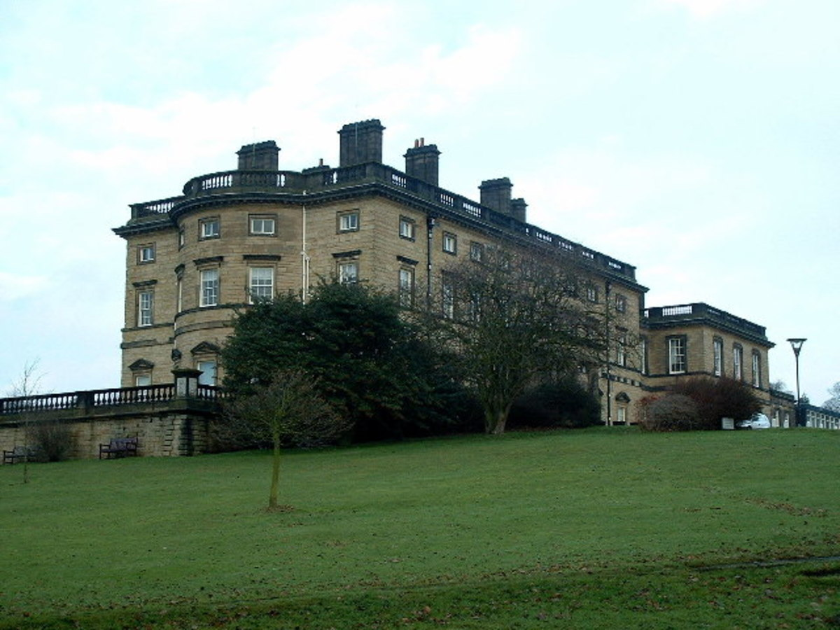 Bretton Hall, originally built in 1720.
