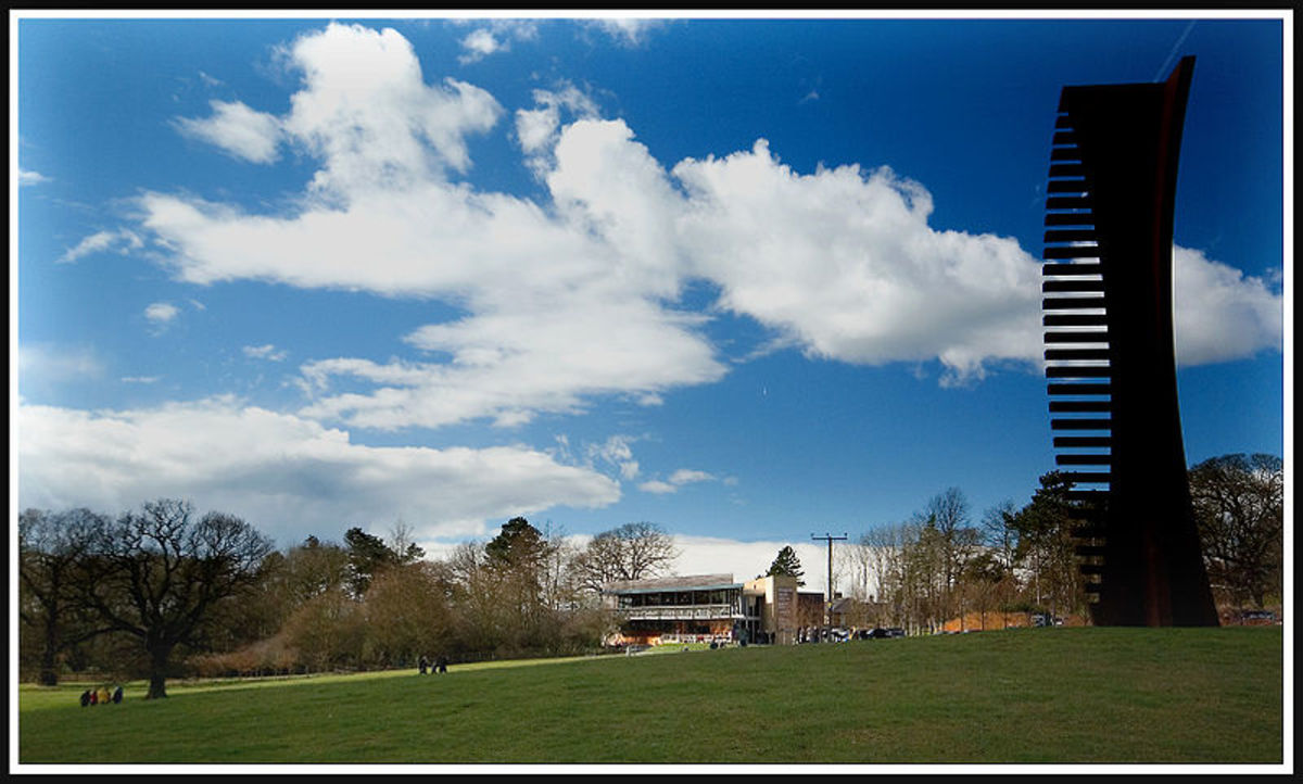YSP entrance from West Bretton.