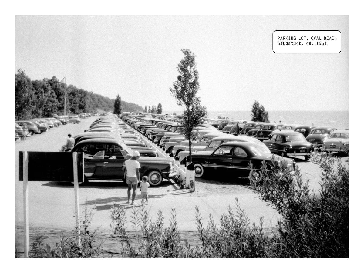 Old Oval Beach Parking Lot