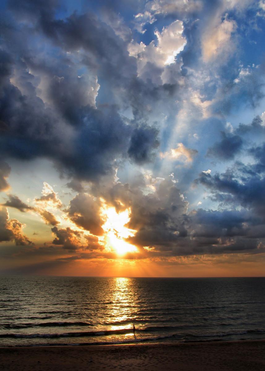 Lake Michigan Sunset at Oval Beach