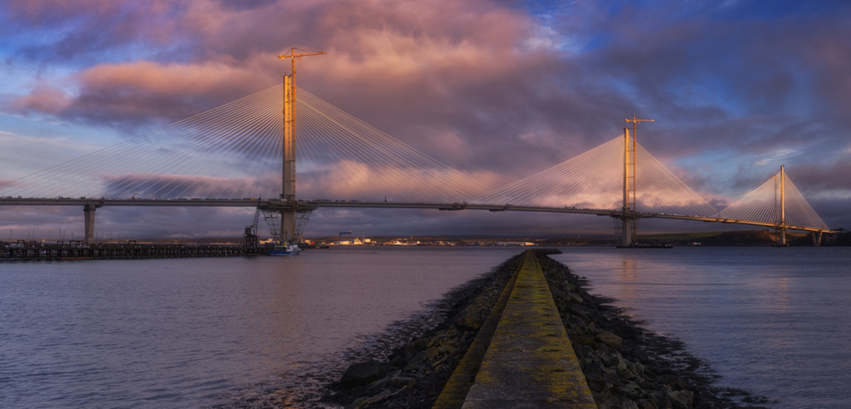 The Queensferry Crossing, new road bridge
