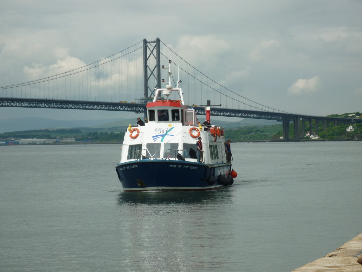 The ferry in the Forth of Firth