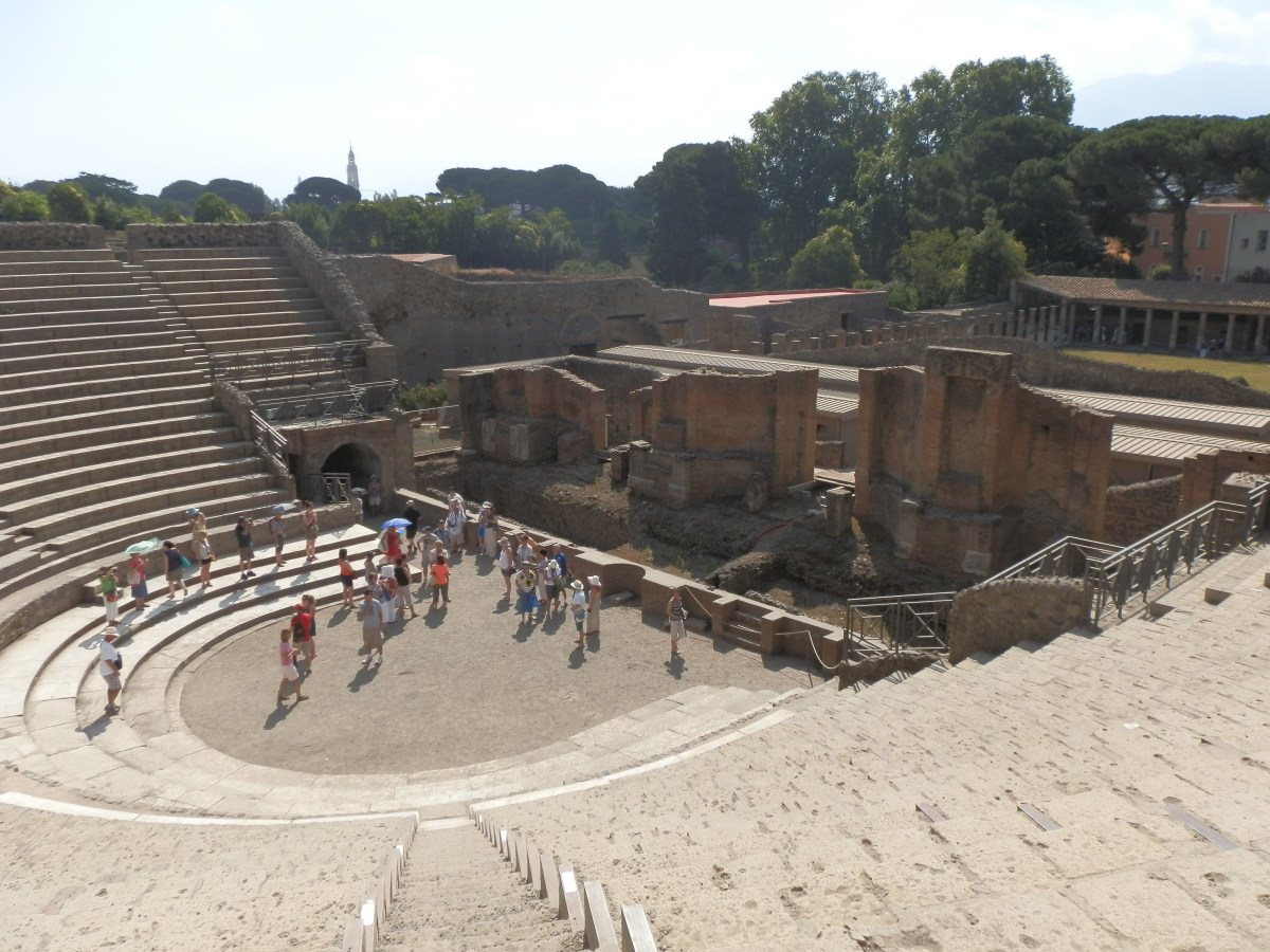 The Grand Theatre at Pompeii