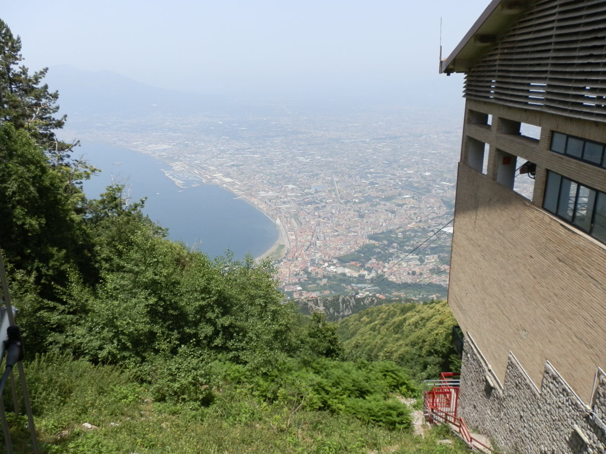 View of the Bay of Naples from Monte Faito