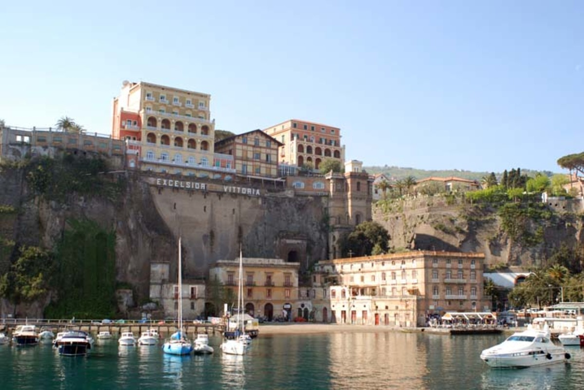 The Marina Piccola in Sorrento