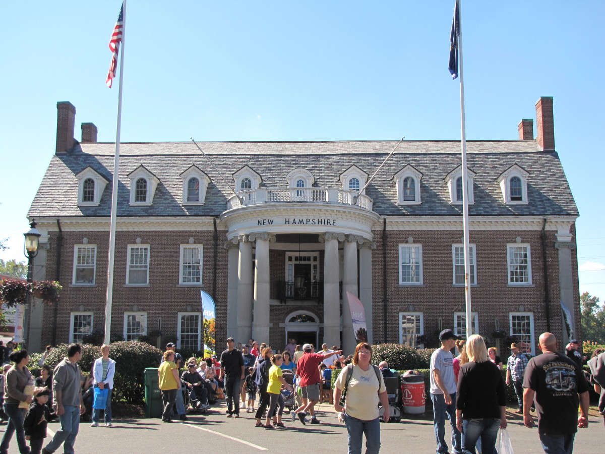 Avenue of the States - New Hampshire Building