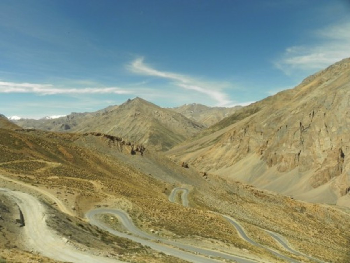The stunning views from Gata Loops were one of the highlights of the trip.
