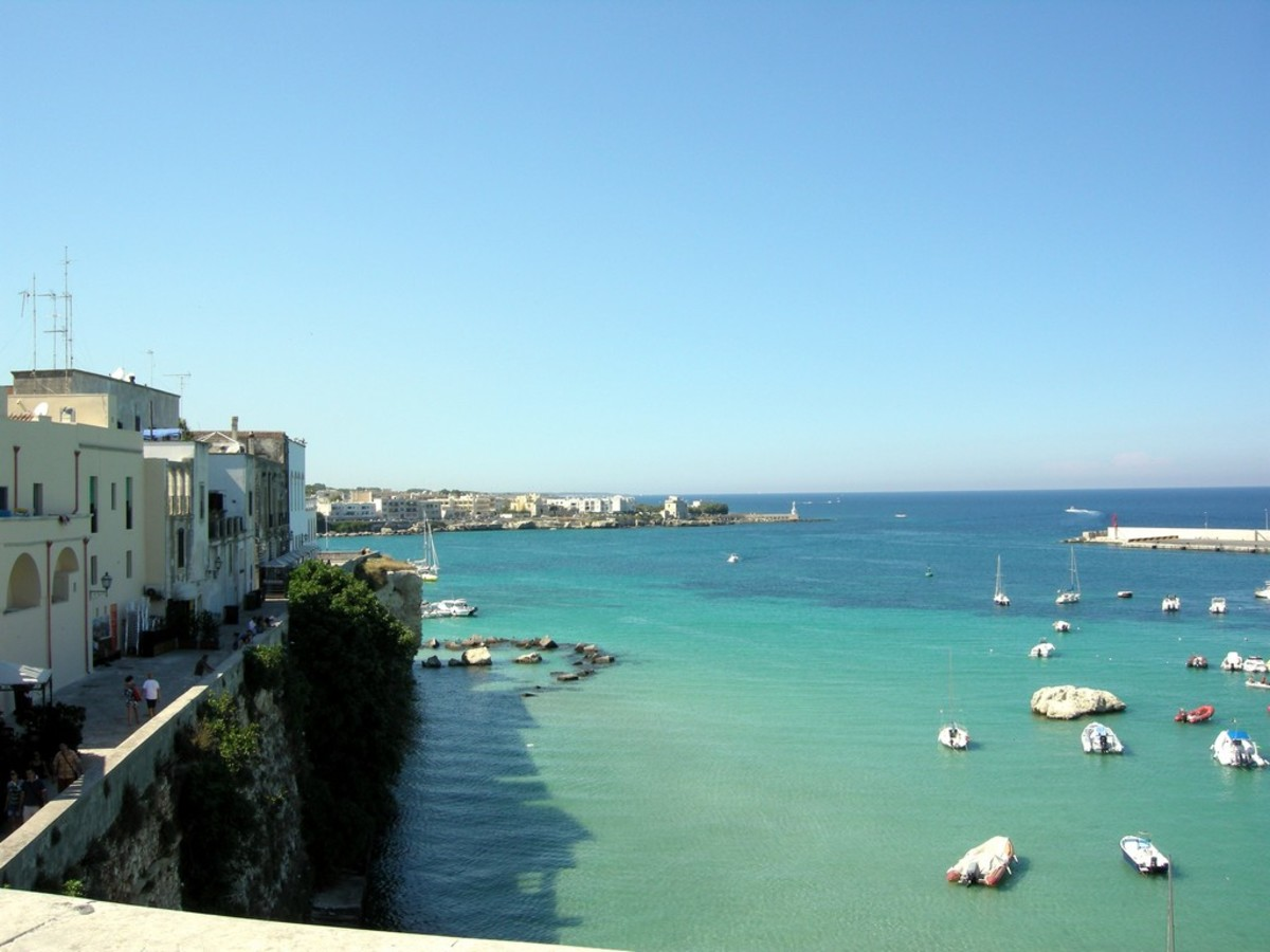 Otranto has a stunning amount of beaches nearby.
