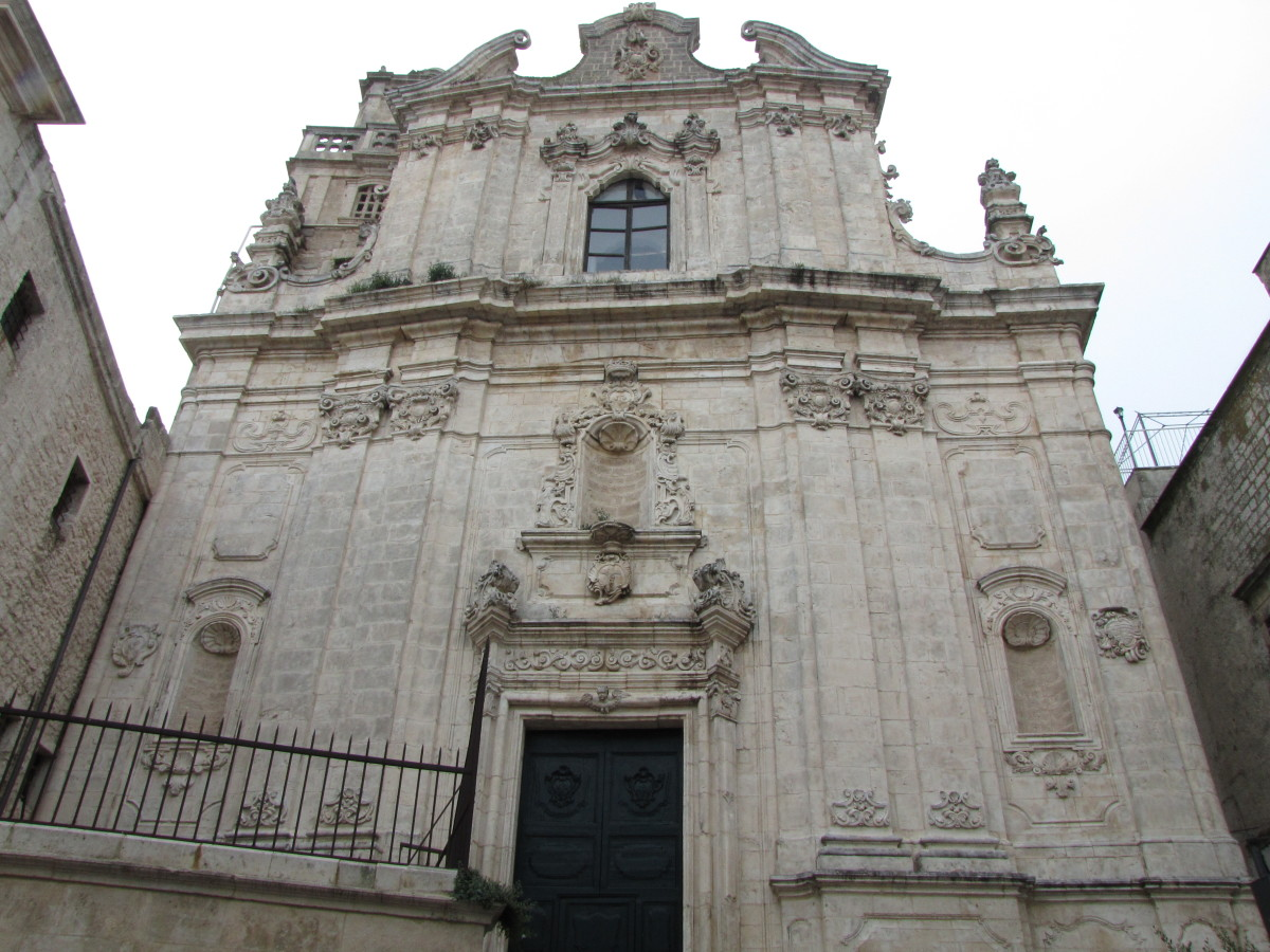 Chiesa Ostuni churches and buildings feature intricate architectural styles.