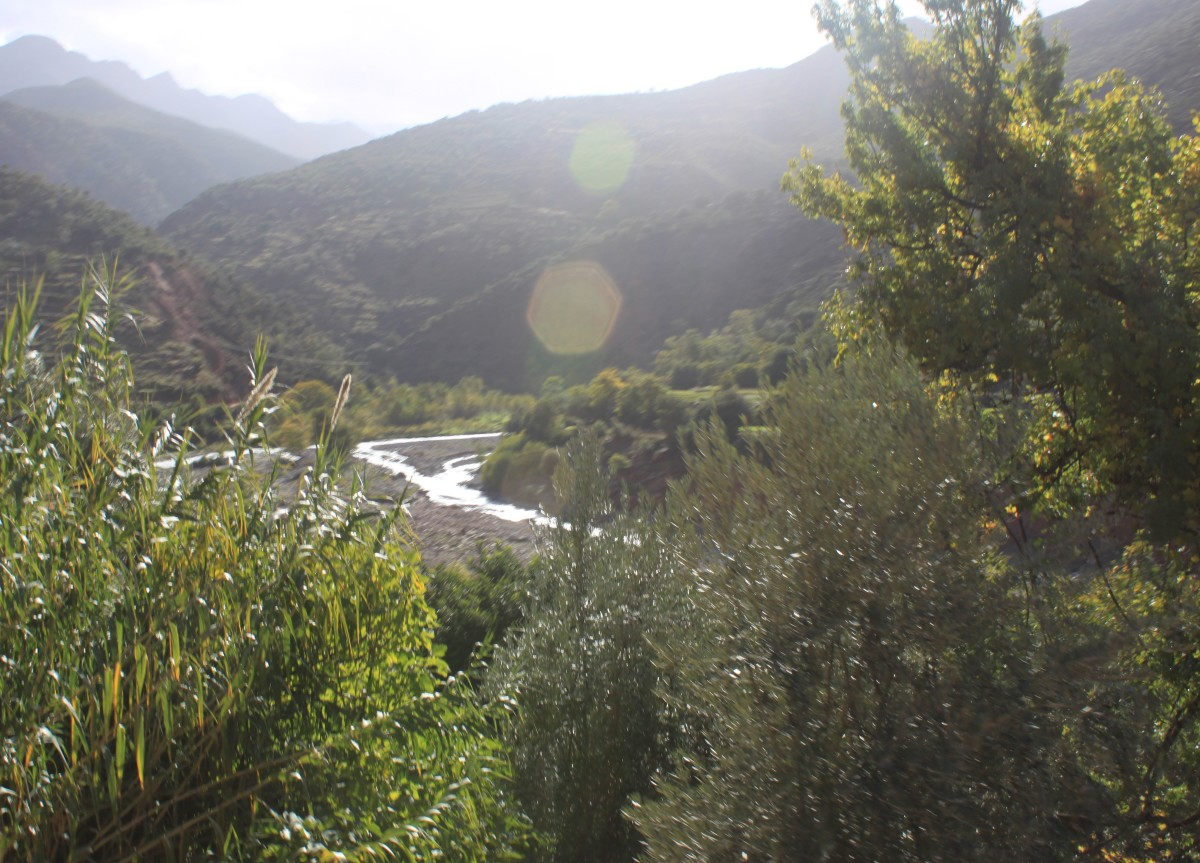 An idyllic valley awaits you amongst the Atlas Mountains.