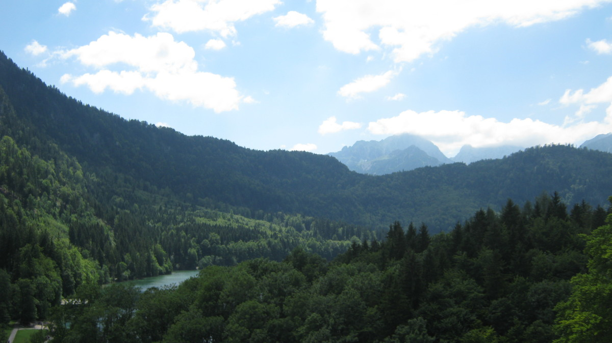 Beautiful Bavarian Countryside Surrounding Hohenschwangau