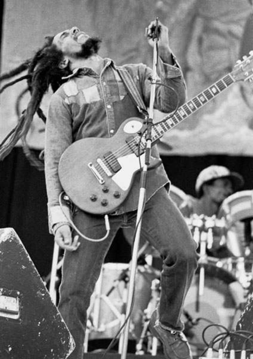 Bob Marley organized and performed at many free concerts in Africa.