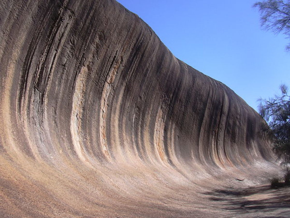 Wave Rock in Hyden