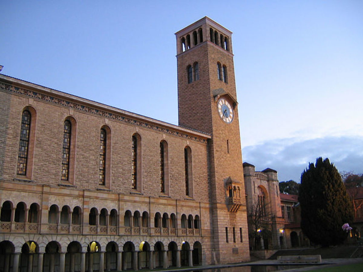 Winthrop Hall, University of WA