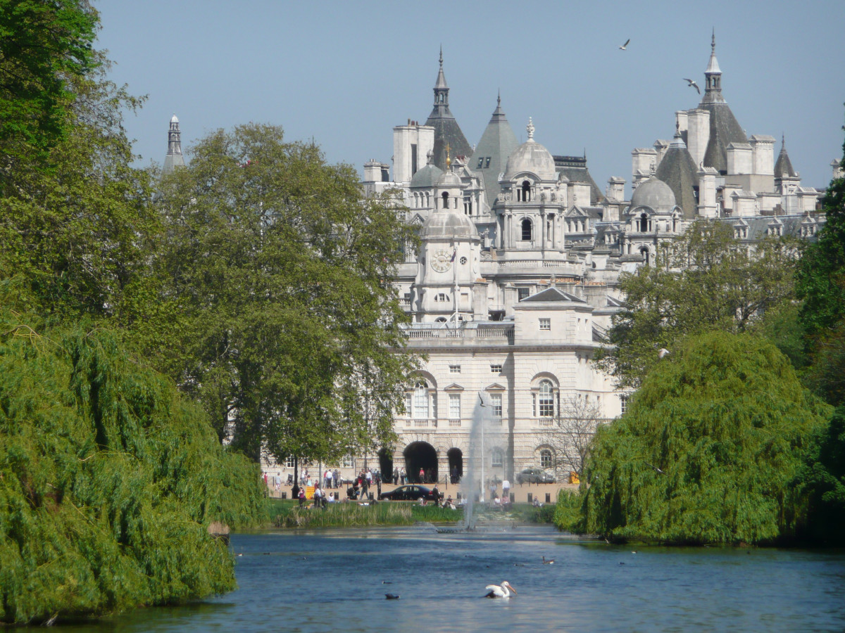 The pelicans in St. James Park first arrived in 1664 as a gift from the Tsar of Russia.