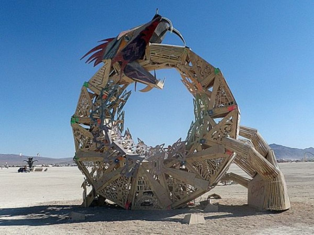 BM Regional Effigy Art Sculpture