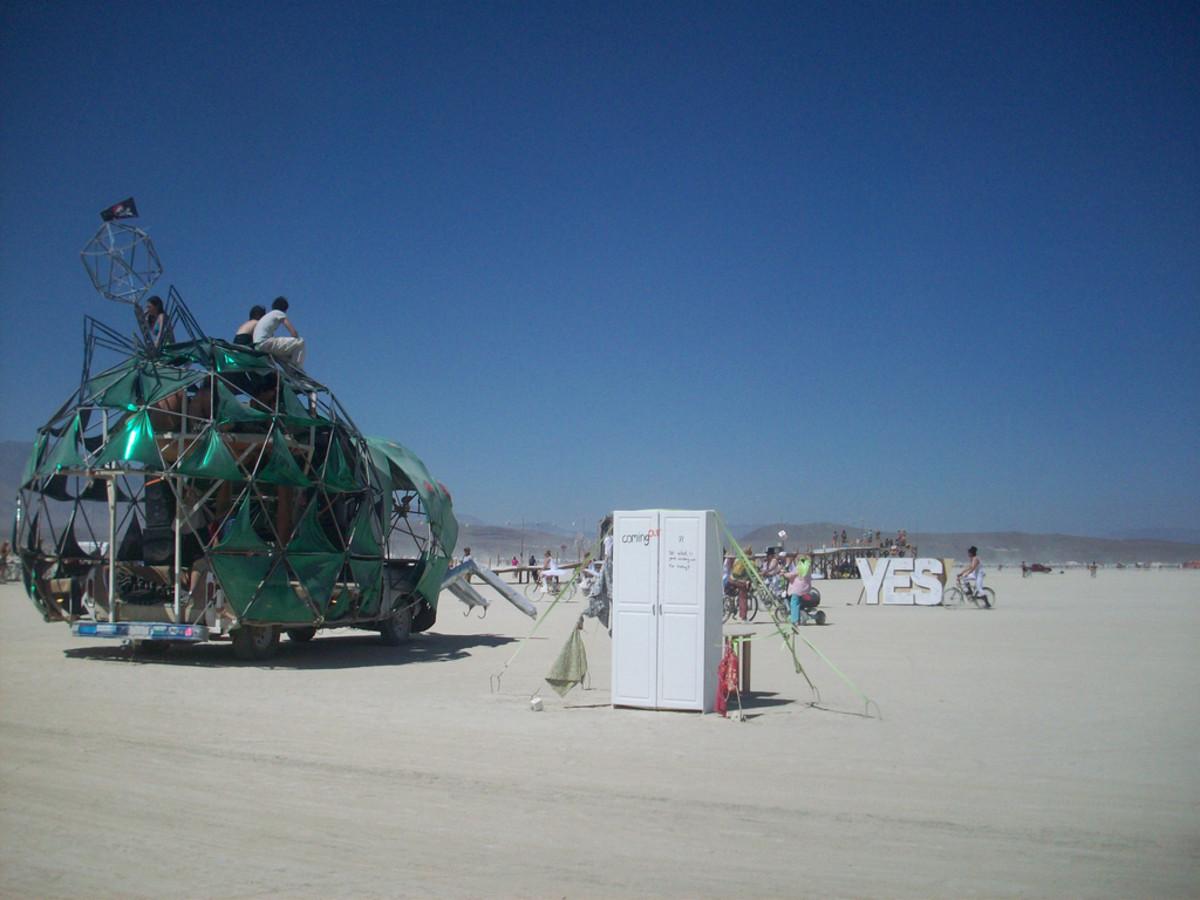 Iridescent Beetle Art Car