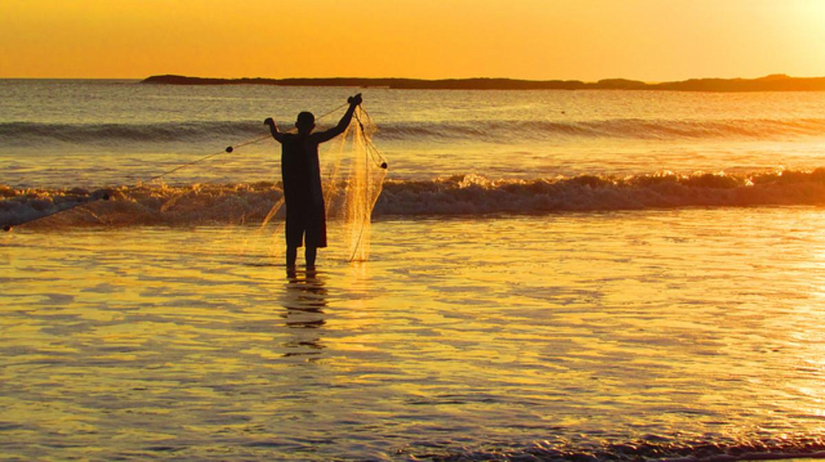 Fisherman in San Juan del Sur, Nicaragua.