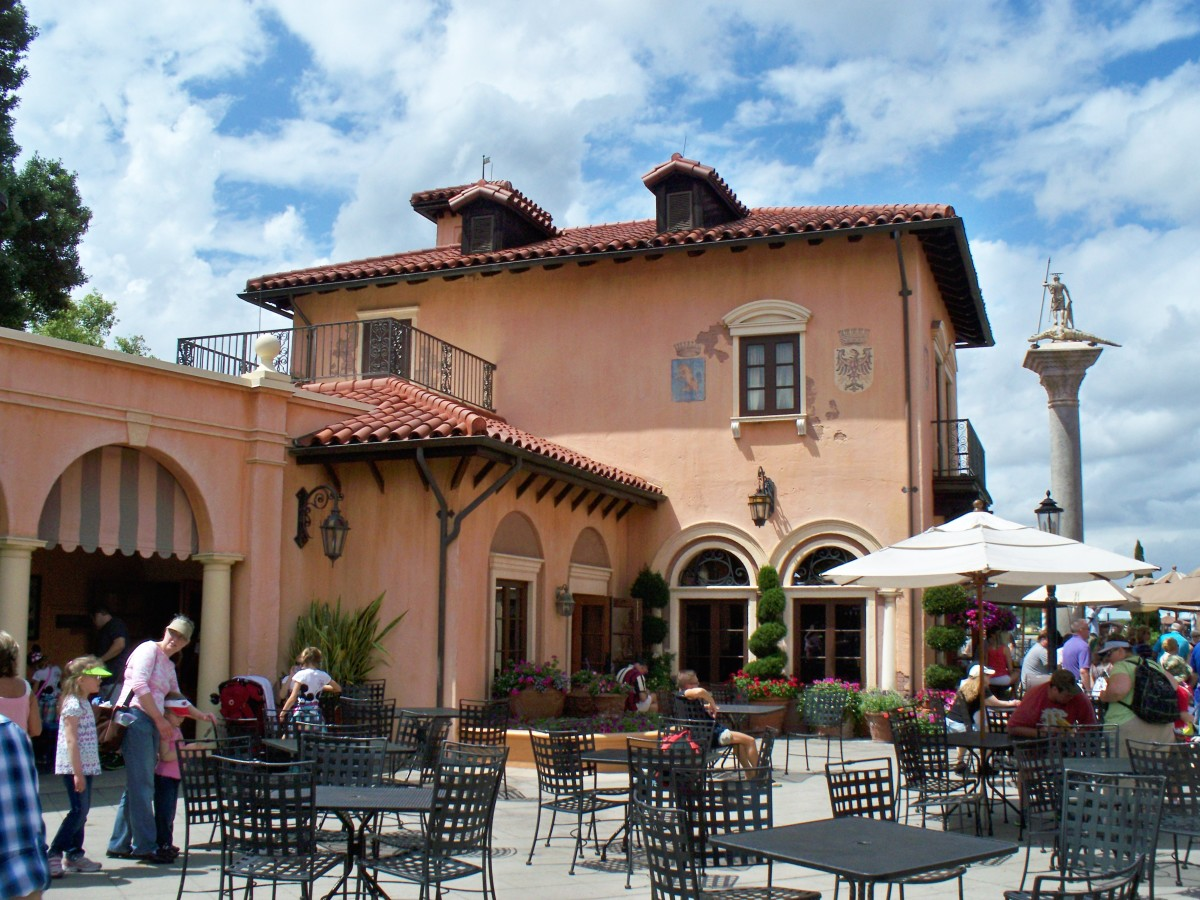 Epcot's World Showcase - Italy