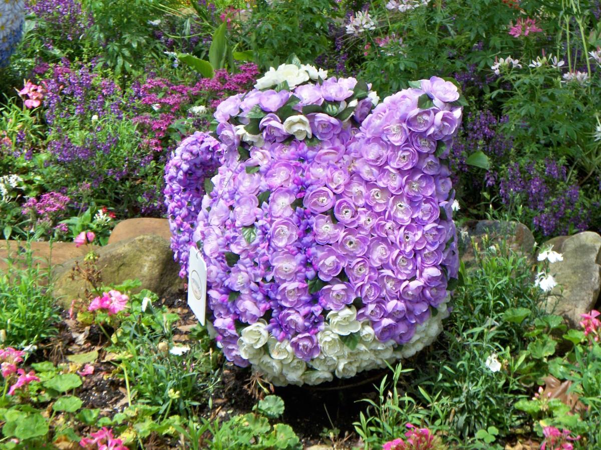 Teapot - part of Epcot's International Flower and Garden Festival