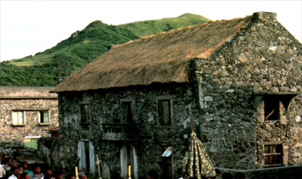Maison en pierre de Batanes