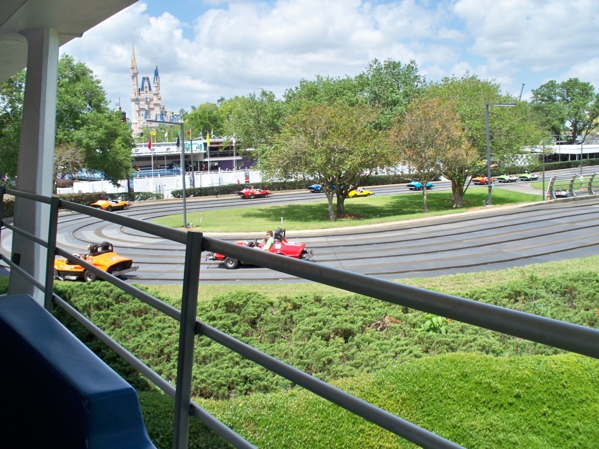 Tomorrowland Speedway at Disney's Magic Kingdom