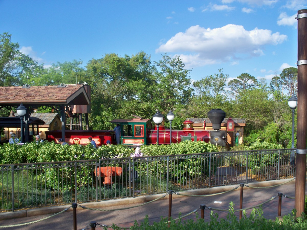 Walt Disney World Railroad - Steam Engine