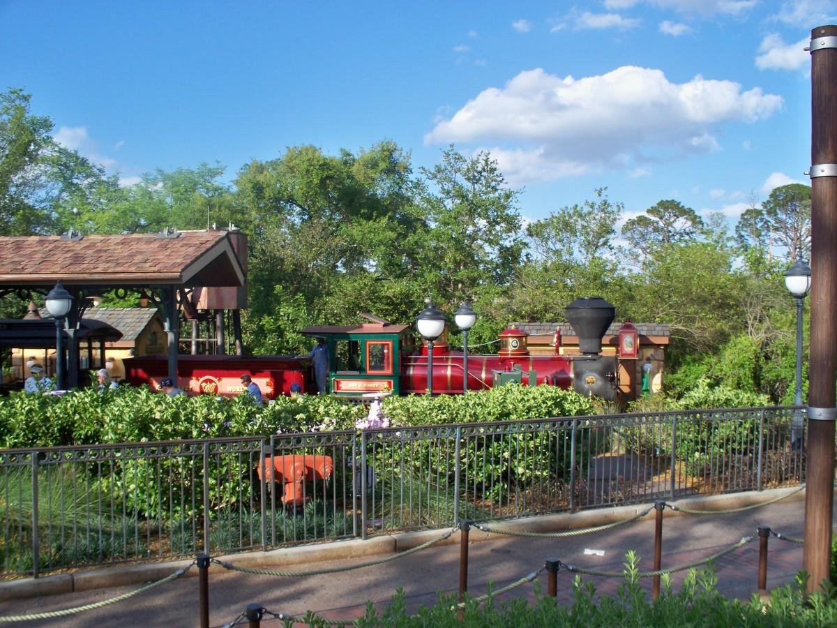 Walt Disney World Railroad - Steam Engine