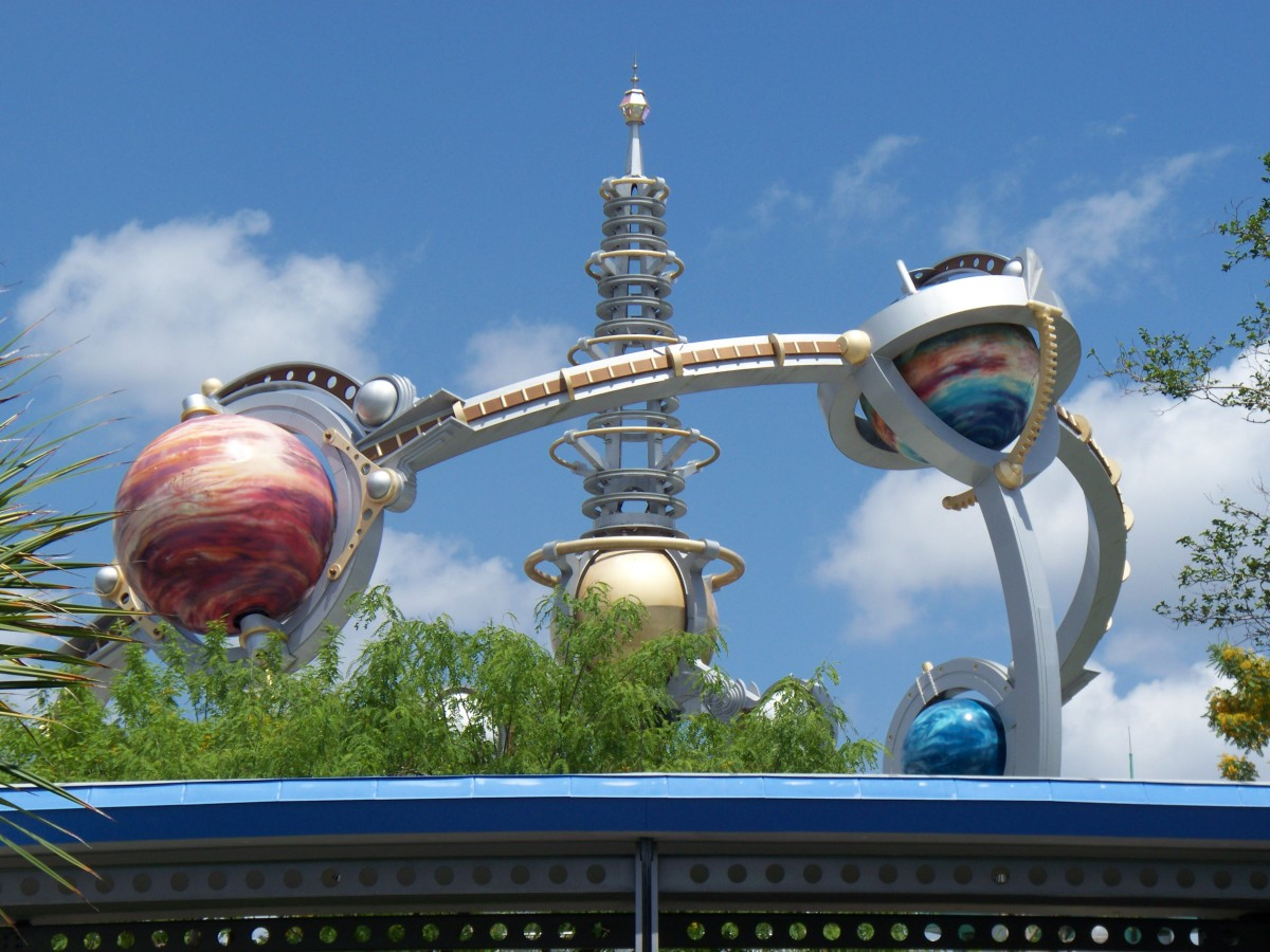 Tomorrowland at Magic Kingdom