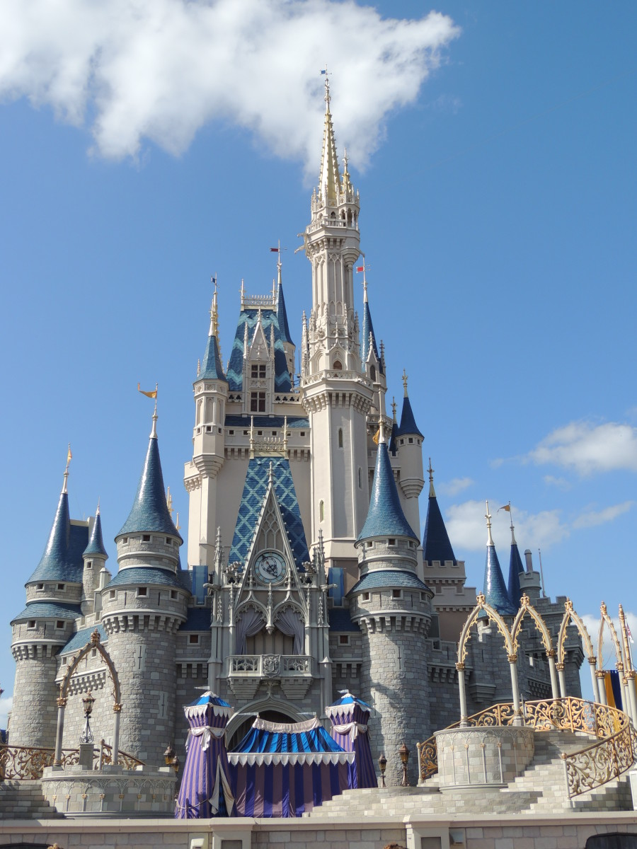 Cinderella's Castle at Walt Disney's Magic Kingdom
