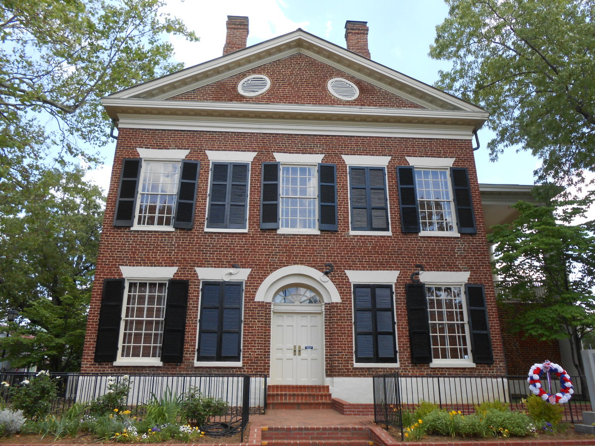 The old courthouse, built in 1836.