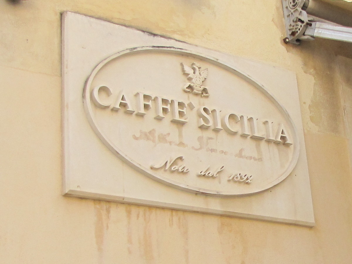 Caffe' Sicilia - 1892