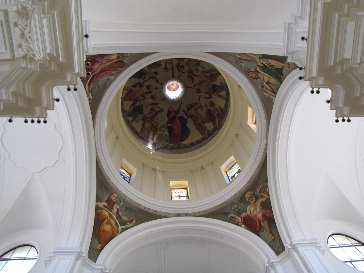 Reconstructed dome of the Cathedral