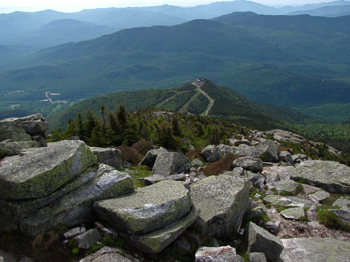 Another view from Whiteface Mountain.
