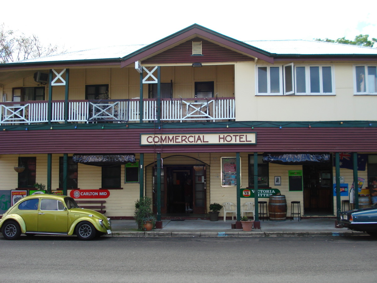A Queensland Country Pub - Great Food