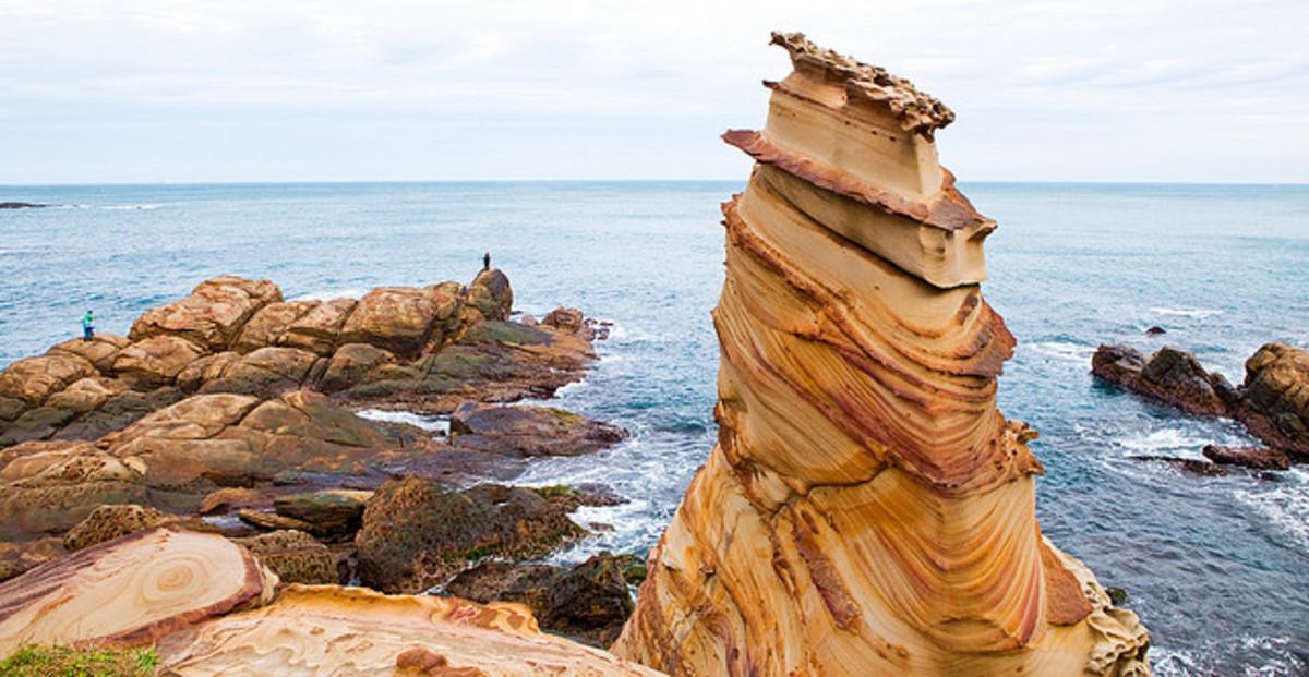 Nanya Rock Formations, Taiwan