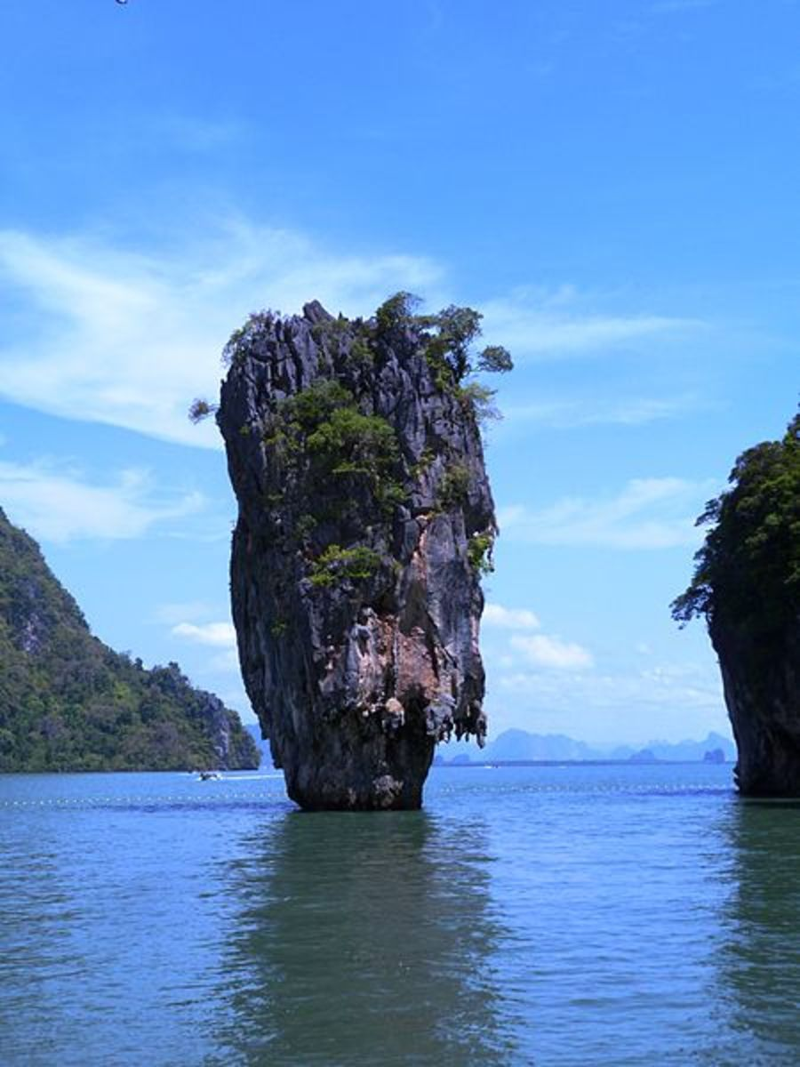 Khao Ta-Pu (James Bond Island), Phang Nga Bay, Thailand