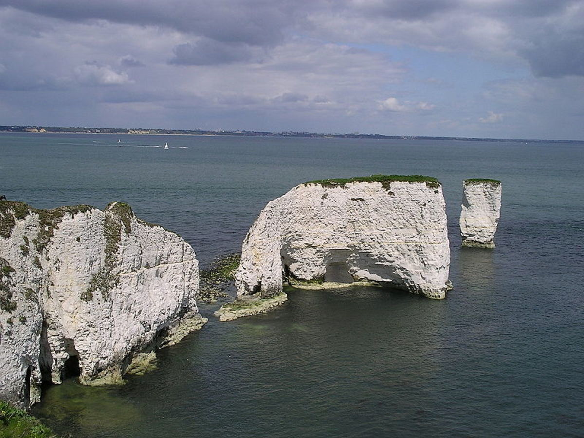 Old Harry Rocks, England
