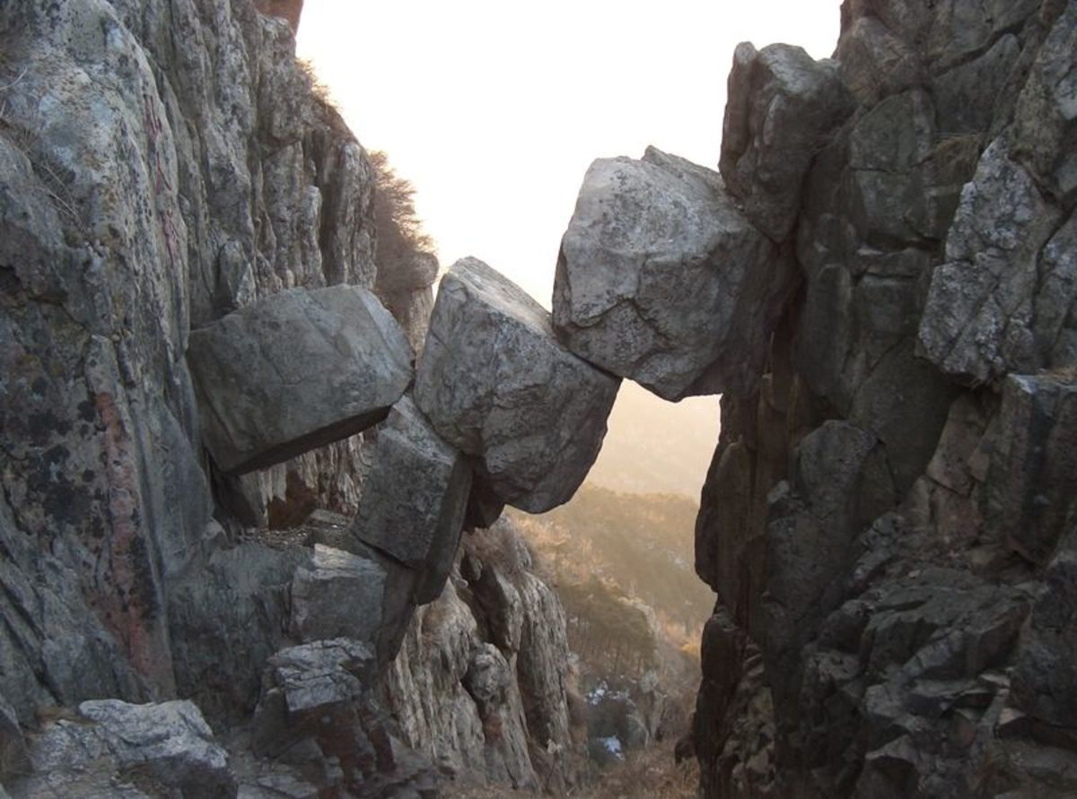 Immortal Bridge, Mt. Tai, China