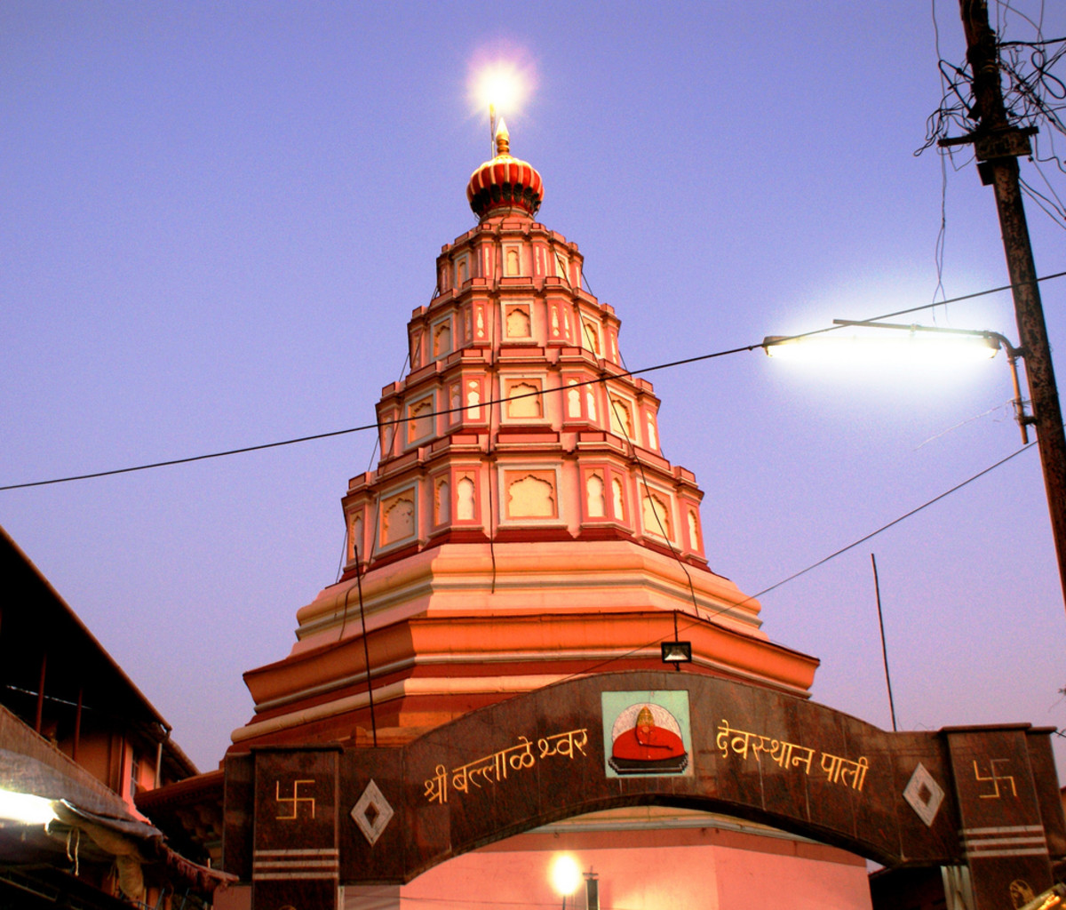 Pali Ganesh Mandir is one of the eight temples of Lord Ganesha.