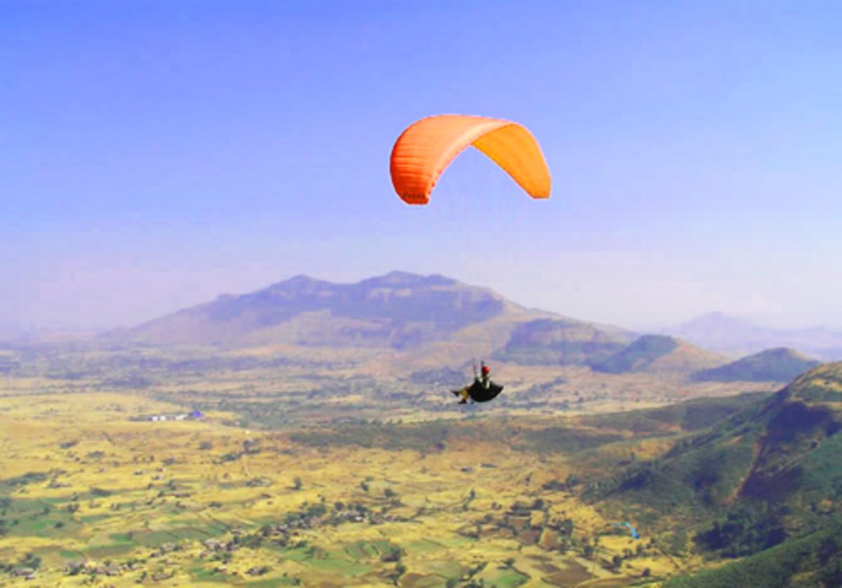 Go paragliding in Kamshet.