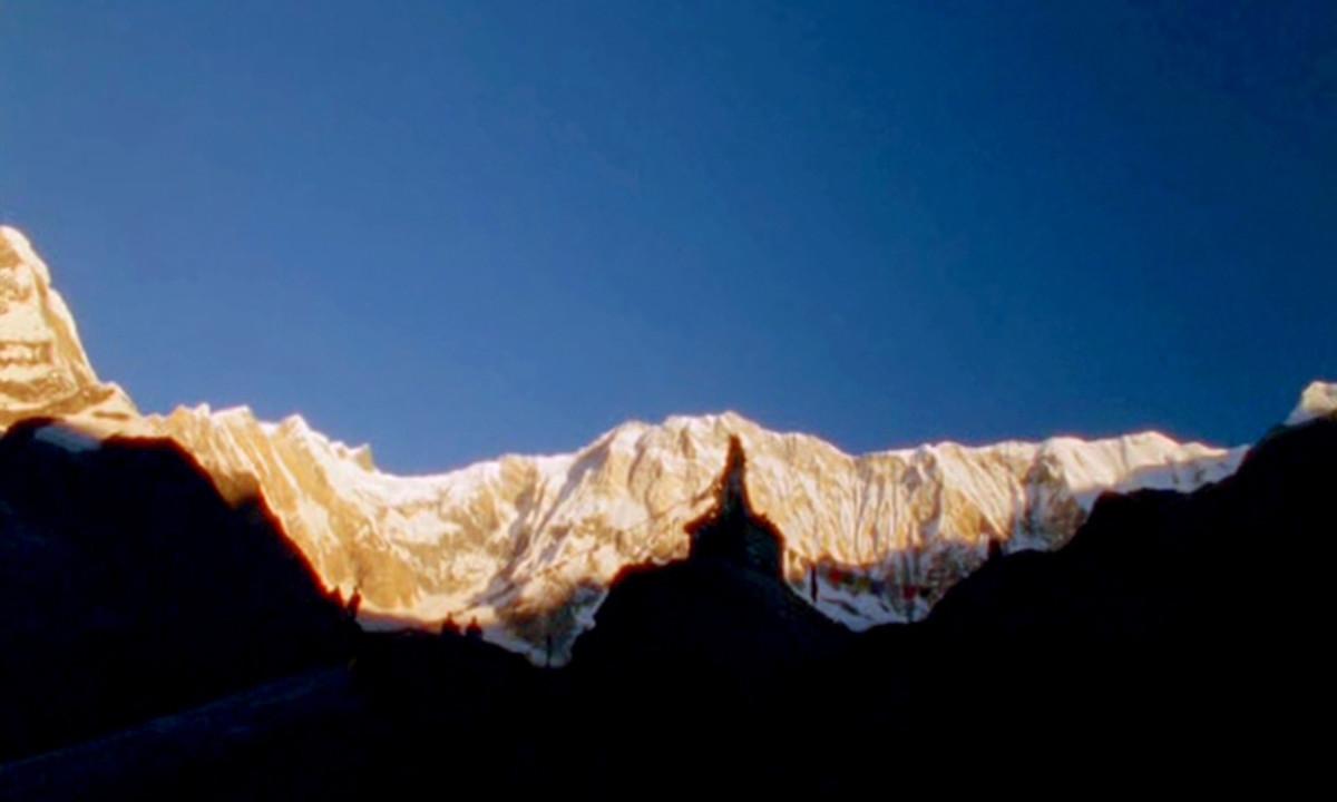 Annapurna Mountain Range