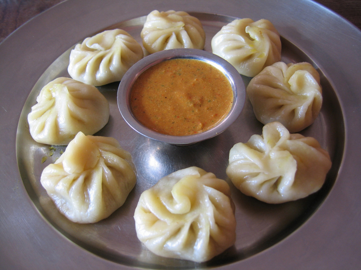 Momo is a much loved delicacy in Nepal.